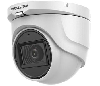 DS-2CE76H0T-ITMFS 5Мп Turbo HD видеокамера Hikvision с встроенным микрофоном