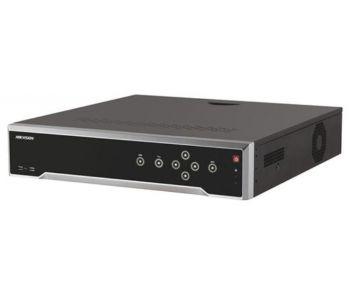 DS-7708NI-I4/8P 8-канальный 4K NVR c PoE коммутатором на 8 портов