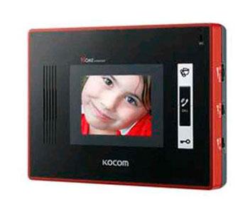 "KVC-W354 (red) 3.5"" монитор"