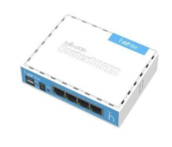 RB941-2nD 2.4GHz Wi-Fi точка доступа с 4-портами Ethernet для домашнего использования